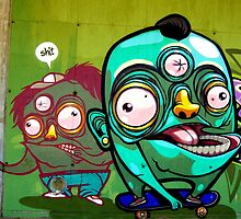 Wacky Sk8ers by Mers Duran