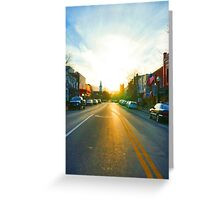Sundown Greeting Card