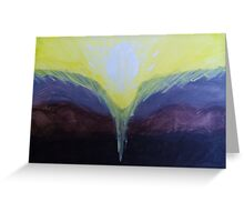 Power of Creation Greeting Card