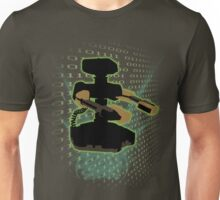 Super Smash Bros Green ROB Silhouette Unisex T-Shirt