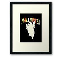 Halloween ghost Framed Print