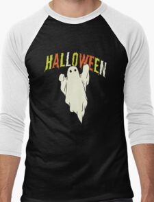 Halloween ghost Men's Baseball ¾ T-Shirt