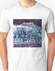 chicago panorama Unisex T-Shirt