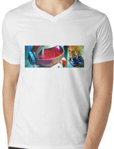 Retro Robot 2 Mens V-Neck T-Shirt