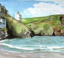 """""""Chaff Cove # 1"""" - Port Isaac, Cornwall by Timothy Smith"""