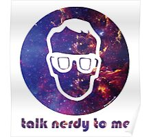 NERDY TALK ― for him Poster