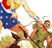 Wonder Woman on Horseback Sticker