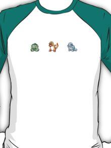 Starter Pokemons T-Shirt