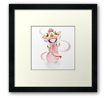 Lion Dance Framed Print
