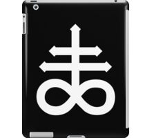 Pentagram - 666 - Satan - Cross iPad Case/Skin