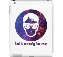 NERDY TALK ― for her iPad Case/Skin