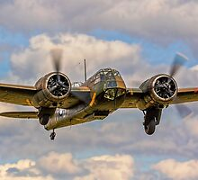 Bristol Blenheim IF L6739 G-BPIV getting its gear up by Colin Smedley