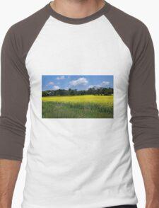 Field of Gold Men's Baseball ¾ T-Shirt