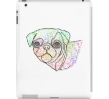Wire Pug iPad Case/Skin