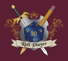 Roll Player Blue d20 Crest by NaShanta
