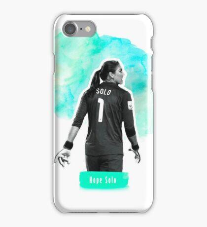 USWNT IPhone Case (Hope Solo) iPhone Case/Skin
