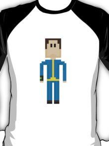 FALLOUT 4 - 8-Bit Sole Survivor Design T-Shirt