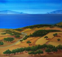 Summer time on island by Kostas Koutsoukanidis