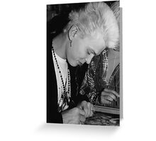 Billy Idol Greeting Card