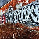 Warehouse District Graff by Bridgette O'Keefe