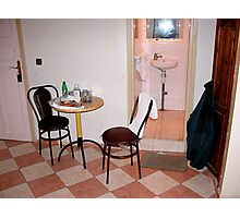 The Smallest Room. Photographic Print