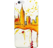 New York Watercolour Skyline! iPhone Case/Skin