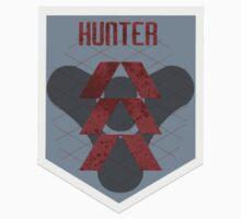Destiny Hunter Badge by JoshVII