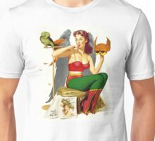 Hawkgirl Pin-Up 01 Unisex T-Shirt