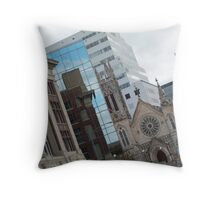 Remix - Austin, TX Throw Pillow