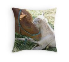 New filly Throw Pillow