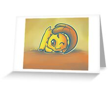 Chikorita Greeting Card