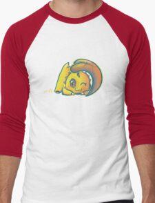 Chikorita Men's Baseball ¾ T-Shirt