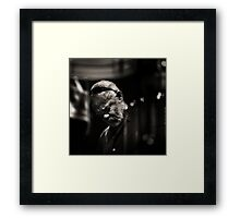 Hubert Laws Framed Print