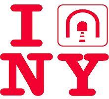 I tunnel NY,  I love NY by hookink