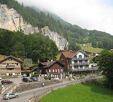 To Live in Lauterbrunnen, Switzerland by Danielle Ducrest