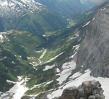 Down, Down in the Valley - Switzerland by Danielle Ducrest