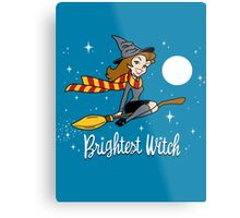 Brightest Witch Metal Print