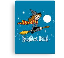 Brightest Witch Canvas Print