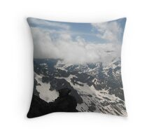 Above and Below - Switzerland Throw Pillow