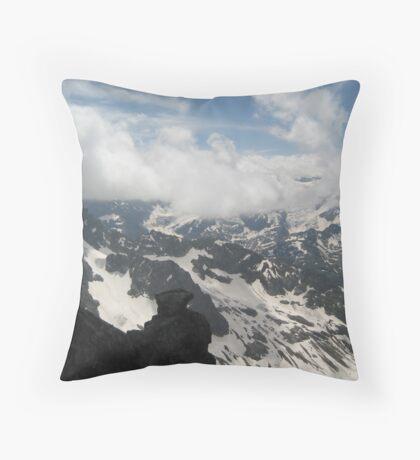 Above and Below - Switzerland Throw Pillow