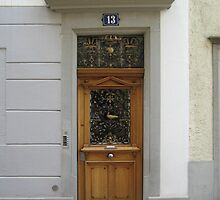 A Door in Zurich by Danielle Ducrest