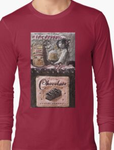 Chocolat   My Creations Artistic Sculpture Relief fact Main 53  (c)(h) by Olao-Olavia / Long Sleeve T-Shirt