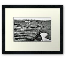 Blakeney Wreck Framed Print