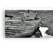 Blakeney Wreck Canvas Print
