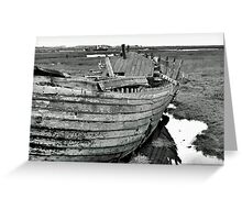 Blakeney Wreck Greeting Card