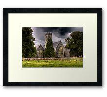 A Church - Adare, County Limerick, Ireland Framed Print
