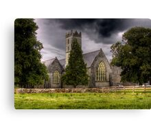 A Church - Adare, County Limerick, Ireland Canvas Print