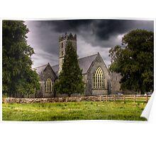 A Church - Adare, County Limerick, Ireland Poster