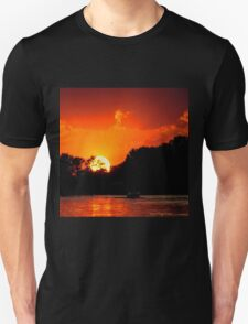 Sunset on the Chain of Lakes T-Shirt