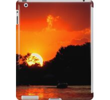 Sunset on the Chain of Lakes iPad Case/Skin